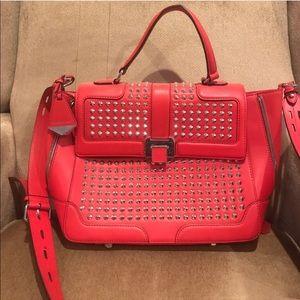 Rebecca Minkoff Red studded bag - Elle Large